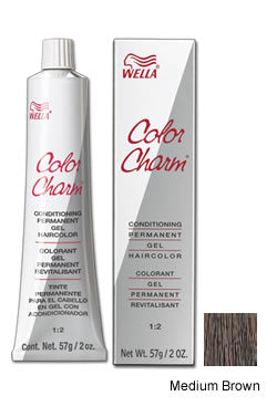 Wella Color Charm Gel Tube #4N/411 Medium Brown
