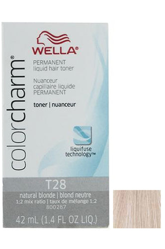 Wella Color Charm Liquid Toner #T28 Natural Blonde