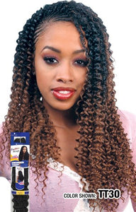 "Freetress Water Wave Bulk 22"",  Synthetic Braids"