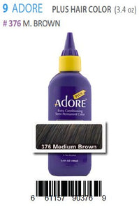 Adore Plus Hair Color #376 M.Brown