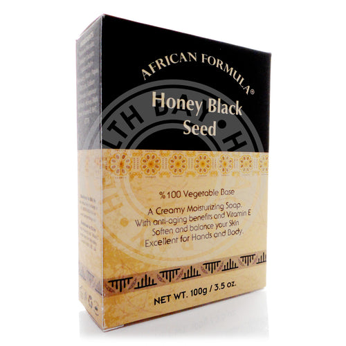 African Formula Honey Blackseed Soap 3.5 oz / 100g