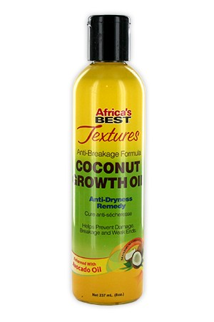 Africa's Best Texture Coconut Growth Oil 8oz