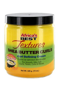 Africa's Best Texture Shea Butter Curls Defining Cream 15oz