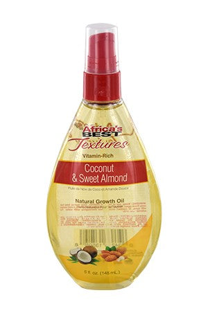 Africa's Best Textures Coco & Sweet Almond Growth Oil 5oz