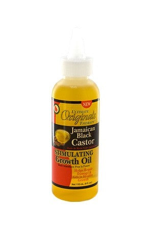 Ultimate Organics Jamaican Black Castor Oil 4oz