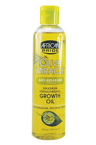 African Pride Olive Miracle Growth Oil-Max 8oz