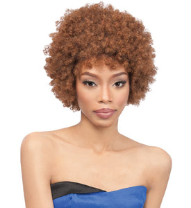 Quick Weave Eco Wig Afro, Synthetic Wig