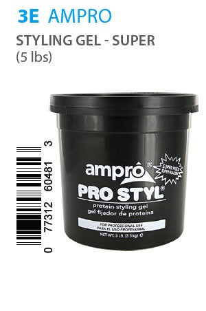 Ampro Pro Styl Protein Styling Gel Super Hold 5LB