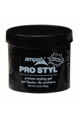 Ampro Pro Styl Protein Styling Gel Super Hold 32oz
