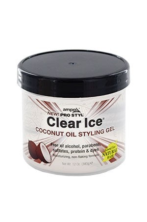 Ampro Clear Ice Coconut Gel 12oz