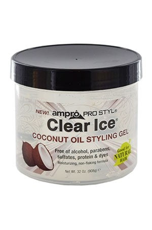 Ampro Clear Ice Coconut Gel 32oz