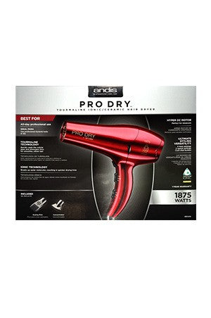 Andis Pro Dry Tourmaline Lonic/Ceramic Dryer