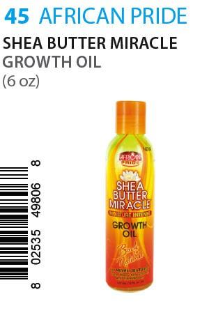 African Pride SB Miracle Growth Oil 6oz