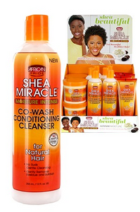 African Pride Shea Miracle Co-Wash Cond Cleanser 12oz