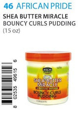 African Pride SB Miracle Bouncy Curls Pudding 15oz