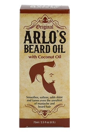 ARLO'S Beard Oil w/ Coconut Oil (2.5 oz)