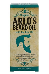 ARLO'S Beard Oil w/ Tea Tree Oil (2.5 oz)