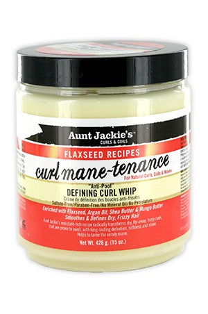 Aunt Jackie's Flaxseed Recipes Defining Curl Whip 15oz