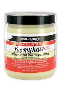 Aunt Jackie's Flaxseed Intensive Repair Conditionong Masque 15oz
