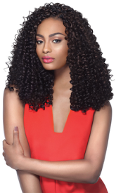 "Bohemian Curl 4 in 1 Loop 14"", Synthetic Braids"