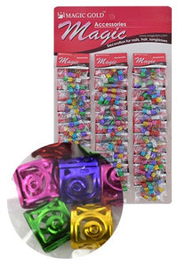 Assorted Hair & Nail Ring Bead pk of 10 pieces