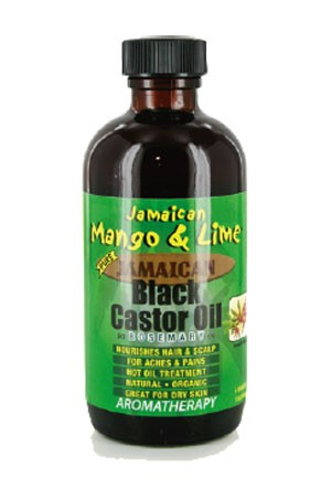 Mango & Lime Black Castor Oil - Rosemary 4oz