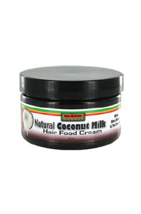 Black Thang Natural Coconut Milk Hair Food Creme 4oz