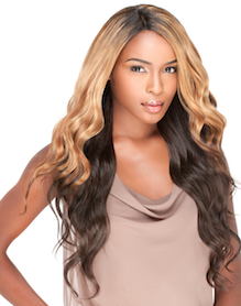 Premium Too Mixx Brazilian Wave Multi Curl, Human Hair Extensions