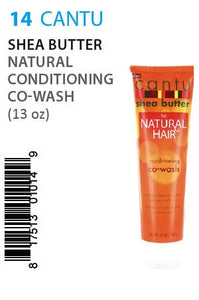 Cantu Shea Butter for Natural Hair (Complete Condition Co-Wash) 10 Oz
