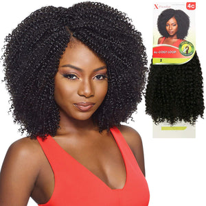 "4C Coily Curl 4 in 1 Loop 14"", Synthetic Braids"