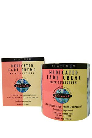 Clear Essence Medicated Fade Creme w/Sunscreen 4oz