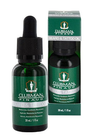 Clubman Pinaud Beard & Tattoo Oil 1oz