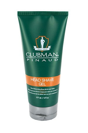 Clubman Pinaud Head Shave Gel 6oz