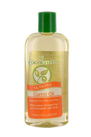 Cococare 100% Natural Carrot Oil 4oz