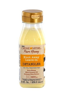 Creme of Nature Pure Honey knot Away Leave-In Detangler 8oz
