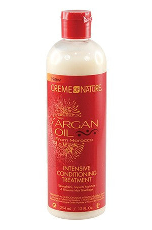 Creme of Nature Argan Oil Intensive Cond. Treatment 12oz