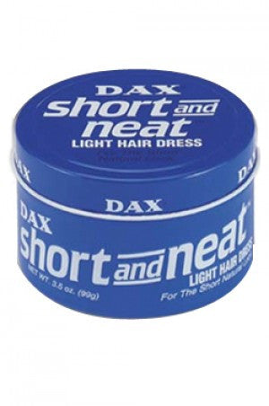 Dax Short & Neat Light Hair Dress Blue Can 3.05oz