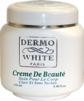 Dermo White Creme Jar 8.4oz