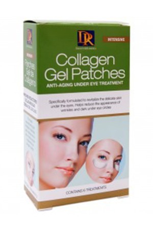 Collagen Gel Patches Pack of 6 Treatments
