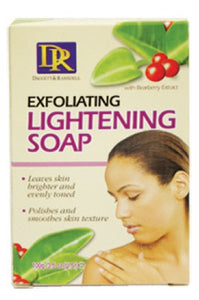 D&R Exfoliating Lightening Soap 100g
