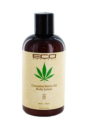 Eco Cannabis Sativa Oil Body Lotion 8oz