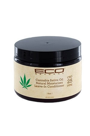 Eco Cannabis Sativa Oil Moist. Leave-In Conditioner 12oz