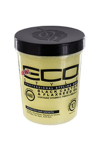 Eco Black Castor & Flaxseed Oil Gel 32oz