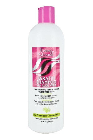 Every Strand Keratin Shampoo with Aloe Vera 12oz