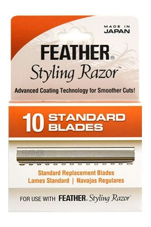 Feather Styling Razor [10blades/pk] #F1-20