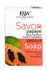 Fair & White Papaya Soap 7oz