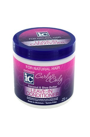 Fantasia IC Curly & Coily Leave-In Conditioner 16oz