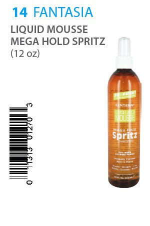 Fantasia Liquid Mousse Mega Hold Spritz 12oz