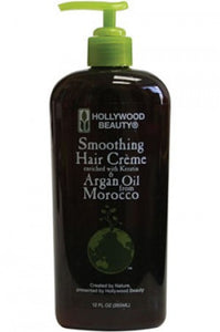 Hollywood Beauty Argan Oil Smoothing Hair Creme 12oz