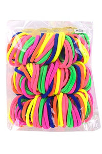 "Seamless Elastic Ponytail Holder 10"" Small10 pcs"